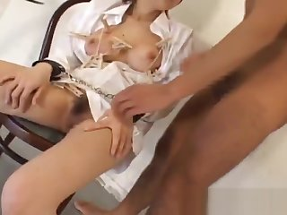 Emir Ruka Mirei Hot JApanese chick gets part1
