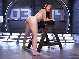 Horny Amarna Miller wants to try all sex machines and BDSM games