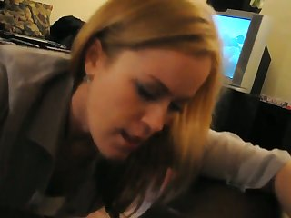 I love when my girlfriend does this and you can tell she loves my black cock
